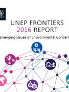 Cover UNEP Frontiers 2016 Report