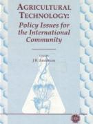 Agricultural Technology: Current Policy Issues for the International Community