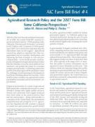Cover AIC Farm Bill Brief 4