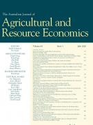 Cover Australian Journal of Agricultural and Resource Economics