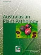 Cover Australian Plant Pathology