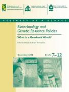 Cover Biotechnology and Resource Policies Briefs 7-12