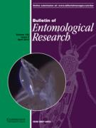 Cover Bulletin of Entomological Research 2012