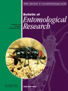 Cover Bulletin of Entomological Research Feb 2013
