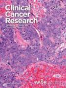 Cover Clinical Cancer Research August 2017