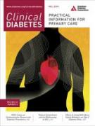 Cover Clinical Diabetes October 2018