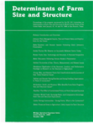 Cover Determinants of Farm Size and Structure 1988