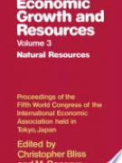 Cover Economic Growth and Resources