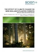 Cover Effect of Climate Change on New Zealand's Planted Forests