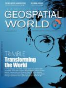 Cover Geospatial World September 2013