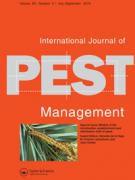 Cover International Journal of Pest Management