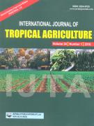 Cover International Journal of Tropical Agriculture
