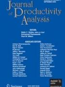 Cover Journal of Productivity Analysis