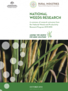 Cover National Weeds Research