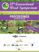 Cover Proceedings 12th Qld Weed Symposium