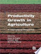 Cover Productivity Growth in Agriculture