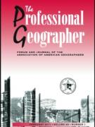 Cover Professional Geographer