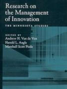 Cover Research on the Management of Innovation