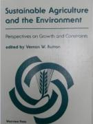 Cover Sustainable Agriculture and the Environment
