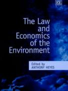 Cover The Law and Economics of the Environment