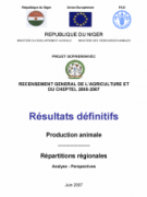 Cover Niger 2005/2007 Final Results