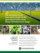 Cover The Emergence of an Innovation Cluster in the Agricultural Value Chain along Colorado's Front Range