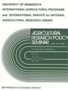 Agricultural Research Policy Seminar