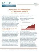 What Can be Done to Reinvigorate US Agricultural Research